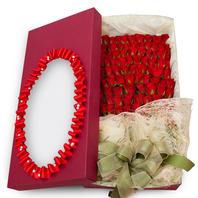 100송이꽃상자